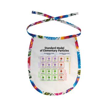 Standard model of elementary particles, Σαλιάρα μωρού αλέκιαστη με κορδόνι Χρωματιστή