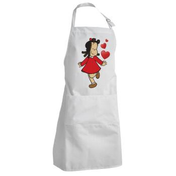 Η μικρή Λουλού, Ποδιά μαγειρικής BBQ Ενήλικων