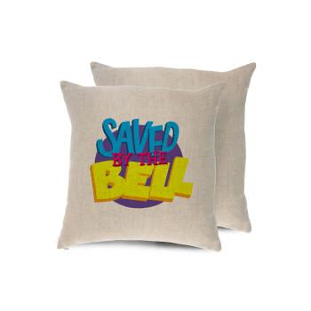 Saved by the Bell, Μαξιλάρι καναπέ ΛΙΝΟ 40x40cm περιέχεται το γέμισμα