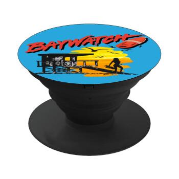 Baywatch, Pop Socket Μαύρο Βάση Στήριξης Κινητού στο Χέρι