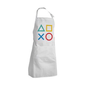 Gaming Symbols, Ποδιά μαγειρικής BBQ Ενήλικων