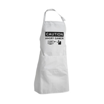 Caution, angry gamer!, Ποδιά μαγειρικής BBQ Ενήλικων