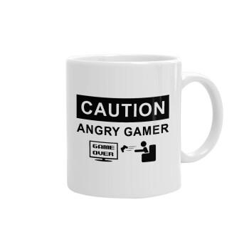 Caution, angry gamer!, Κούπα, κεραμική, 330ml (1 τεμάχιο)