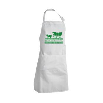 Oregon Trail, cov... edition, Ποδιά μαγειρικής BBQ Ενήλικων