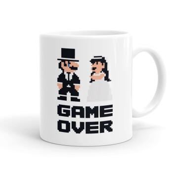 8bit Game Over Couple Wedding, Κούπα, κεραμική, 330ml (1 τεμάχιο)