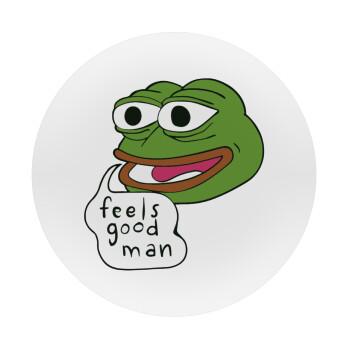 Pepe the frog, Mousepad Στρογγυλό 20cm