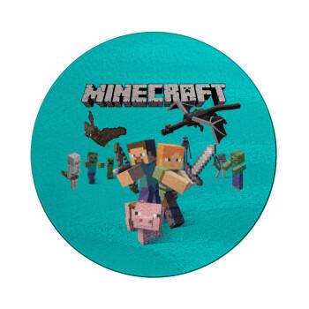 Minecraft Alex, Επιφάνεια κοπής γυάλινη στρογγυλή (30cm)