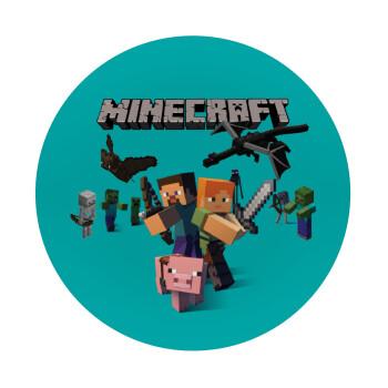 Minecraft Alex, Mousepad Στρογγυλό 20cm