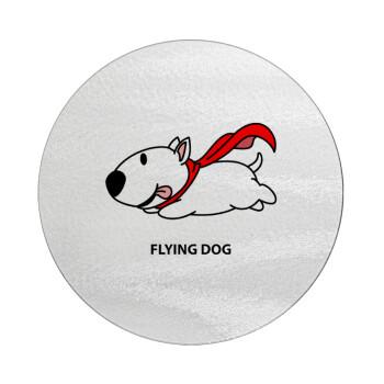 Flying DOG, Επιφάνεια κοπής γυάλινη στρογγυλή (30cm)