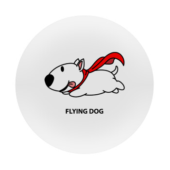 Flying DOG, Mousepad Στρογγυλό 20cm