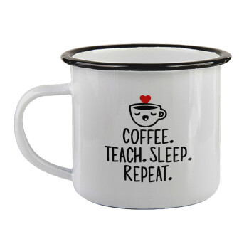 Coffee Teach Sleep Repeat,