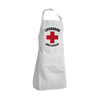 Lifeguard Save & Rescue, Ποδιά μαγειρικής BBQ Ενήλικων