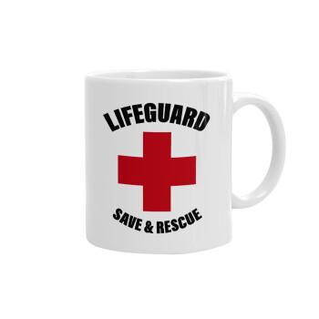 Lifeguard Save & Rescue, Κούπα, κεραμική, 330ml (1 τεμάχιο)