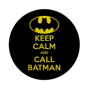 KEEP CALM & Call BATMAN, Επιφάνεια κοπής γυάλινη στρογγυλή (30cm)