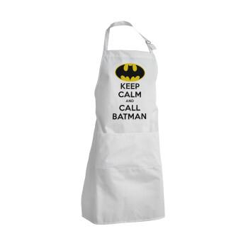 KEEP CALM & Call BATMAN, Ποδιά μαγειρικής BBQ Ενήλικων