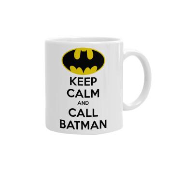 KEEP CALM & Call BATMAN, Κούπα, κεραμική, 330ml (1 τεμάχιο)