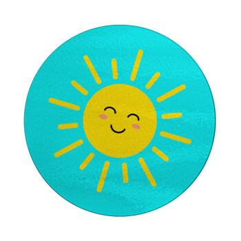 Happy sun, Επιφάνεια κοπής γυάλινη στρογγυλή (30cm)