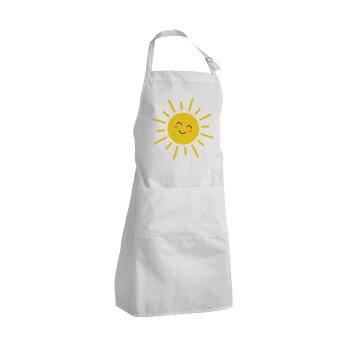 Happy sun, Ποδιά μαγειρικής BBQ Ενήλικων