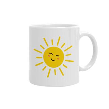 Happy sun, Κούπα, κεραμική, 330ml (1 τεμάχιο)
