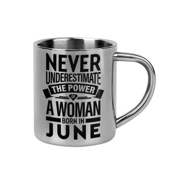 Never Underestimate the poer of a Woman born in...,