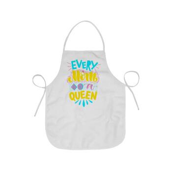Every mom is a Queen, Ποδιά μαγειρικής Ενηλίκων (63x75cm)