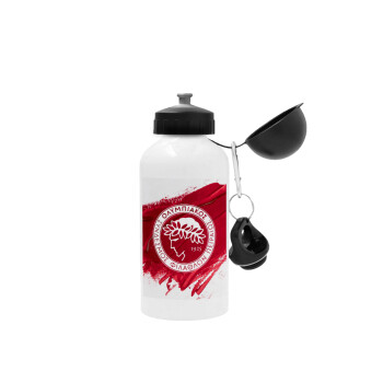 Olympiacos F.C., Μεταλλικό παγούρι ποδηλάτου Λευκό 500ml
