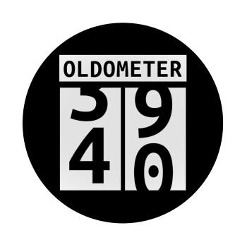 OLDOMETER, Mousepad Στρογγυλό 20cm