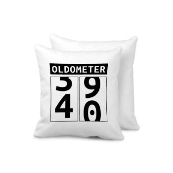 OLDOMETER, Μαξιλάρι καναπέ 40x40cm περιέχεται το γέμισμα