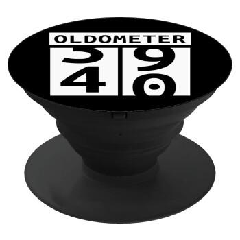 OLDOMETER, Pop Socket Μαύρο Βάση Στήριξης Κινητού στο Χέρι