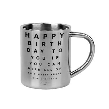 EYE tester happy birthday.,