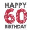 Happy 60 birthday!!!
