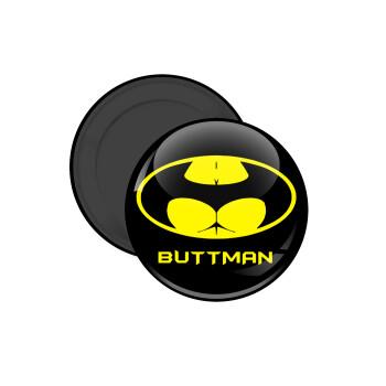 Buttman, Μαγνητάκι ψυγείου στρογγυλό διάστασης 5cm
