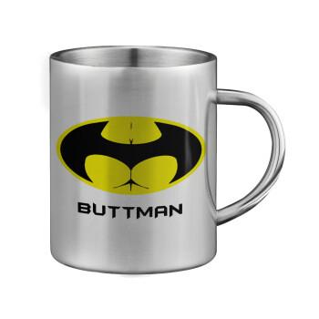 Buttman, Κούπα ανοξείδωτη διπλού τοιχώματος μεγάλη 350ml