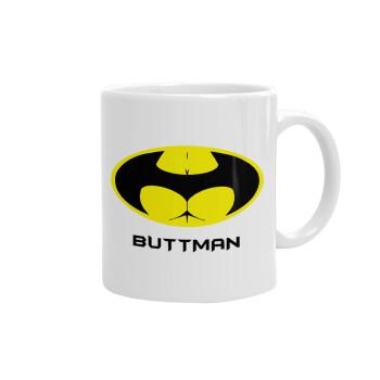 Buttman, Κούπα, κεραμική, 330ml (1 τεμάχιο)