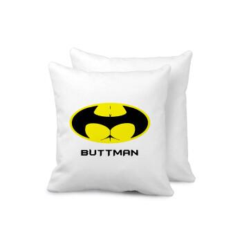 Buttman, Μαξιλάρι καναπέ 40x40cm περιέχεται το γέμισμα