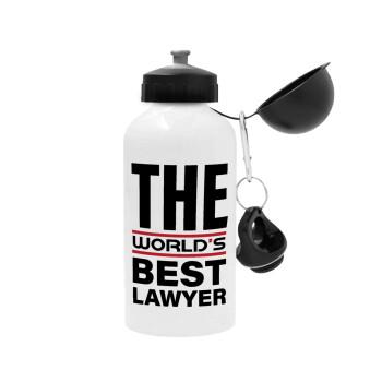 The world's best Lawyer, Μεταλλικό παγούρι ποδηλάτου Λευκό 500ml