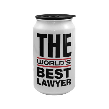 The world's best Lawyer, Κούπα ταξιδιού μεταλλική με καπάκι (tin-can) 500ml