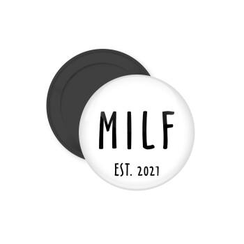 MILF, Μαγνητάκι ψυγείου στρογγυλό διάστασης 5cm