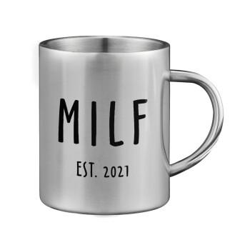 MILF, Κούπα ανοξείδωτη διπλού τοιχώματος μεγάλη 350ml