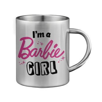 I'm Barbie girl, Κούπα ανοξείδωτη διπλού τοιχώματος μεγάλη 350ml