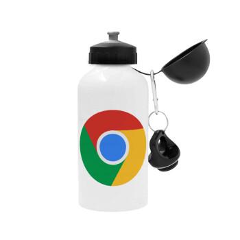 Chrome, Μεταλλικό παγούρι ποδηλάτου Λευκό 500ml