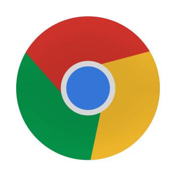 Chrome, Mousepad Στρογγυλό 20cm