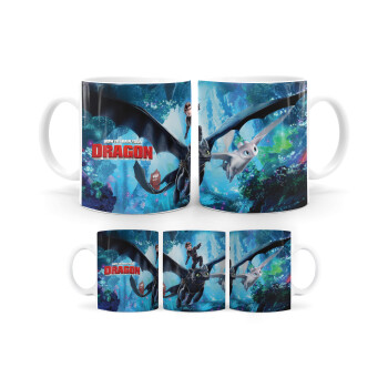 How to train your dragon, Κούπα, κεραμική, 330ml (1 τεμάχιο)