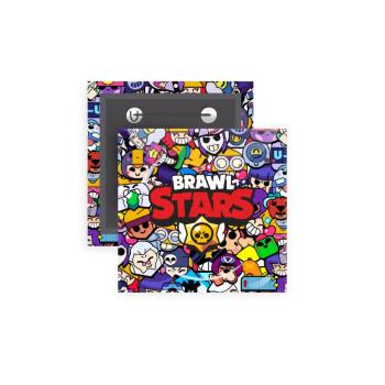 Brawl Stars characters, Κονκάρδα παραμάνα τετράγωνη 5x5cm