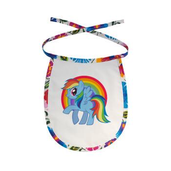 My Little Pony, Σαλιάρα μωρού αλέκιαστη με κορδόνι Χρωματιστή