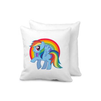 My Little Pony, Μαξιλάρι καναπέ 40x40cm περιέχεται το γέμισμα