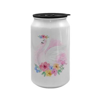 Λευκός κύκνος, Κούπα ταξιδιού μεταλλική με καπάκι (tin-can) 500ml