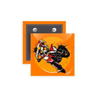 Motocross, Κονκάρδα παραμάνα τετράγωνη 5x5cm