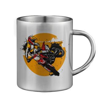 Motocross, Κούπα ανοξείδωτη διπλού τοιχώματος μεγάλη 350ml