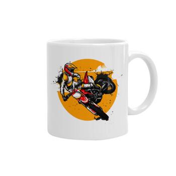 Motocross, Κούπα, κεραμική, 330ml (1 τεμάχιο)
